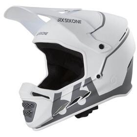 SixSixOne Reset Kask rowerowy biały